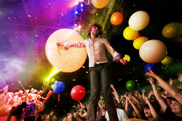 Last seen at Roy Wilkins Auditorium in September, Wayne Coyne and the Flaming Lips will bounce back to the area to play a new Somerset fest Aug. 19-20. / Photo by David Brewster