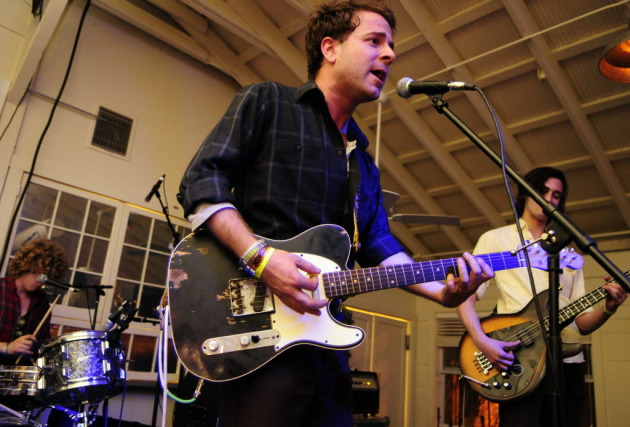 Dawes at South by Southwest in 2010. / Photo by Tony Nelson