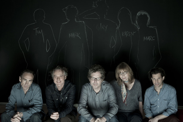 The Jayhawks' new publicity photo is as serious as their fall tour plans. / By Marina Chavez