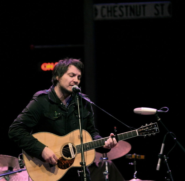 "Wilco's Jeff Tweedy at the State Theatre in 2007, when the band played ""A Prairie Home Companion."" / Star Tribune file"