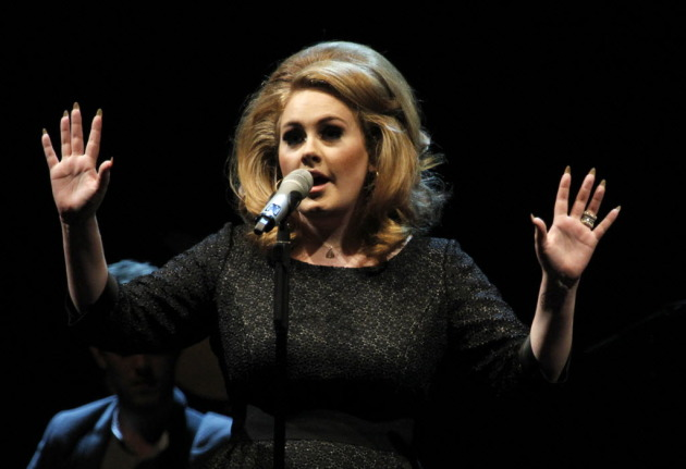 Adele performed at Xcel Energy Center in August and taped a performance for Cities 97 earlier in the year. / Tom Wallace, Star Tribune