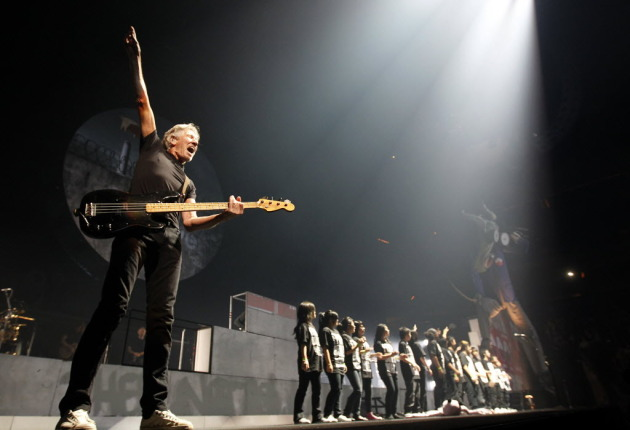 Roger Waters already brought his new staging of &quot;The Wall&quot; to Xcel Energy Center in October of 2010. / Carlos Gonzalez, Star Tribune