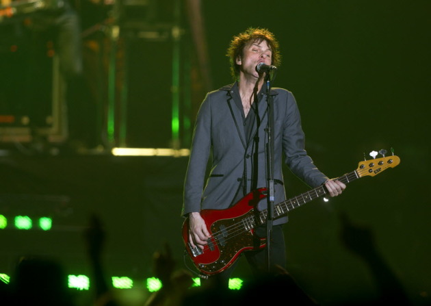Tommy Stinson at Target Center on Sunday with Guns N' Roses. / Renee Jones Schneider, Star Tribune