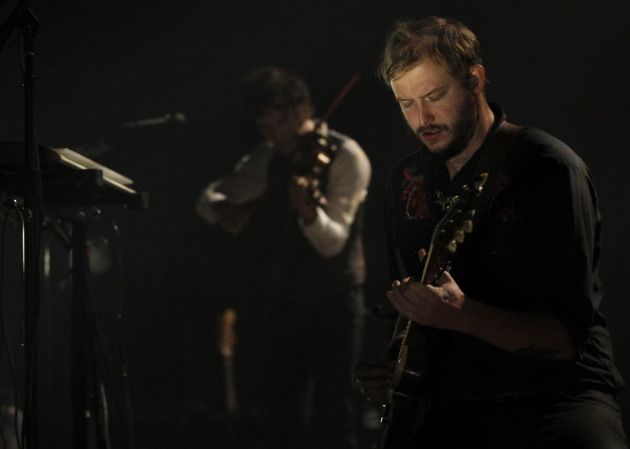 Justin Vernon's local following was already well-proven at his two sold-out Orpheum Theatre shows in September. / Photo by Carlos Gonzalez