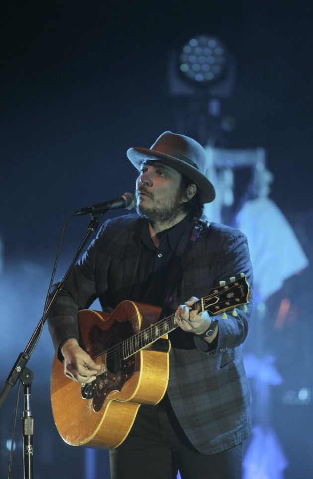 Jeff Tweedy wore the same hat and jacket both nights at the State, so this could be from Wednesday's show. / Jeff Wheeler