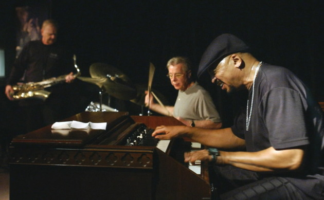 Organ Night at the Artists' Quarter circa 2004, featuring (from left) Gary Burg, Kenny Horst and Billy Hollomon. / Star Tribune photo, Joey McLeister