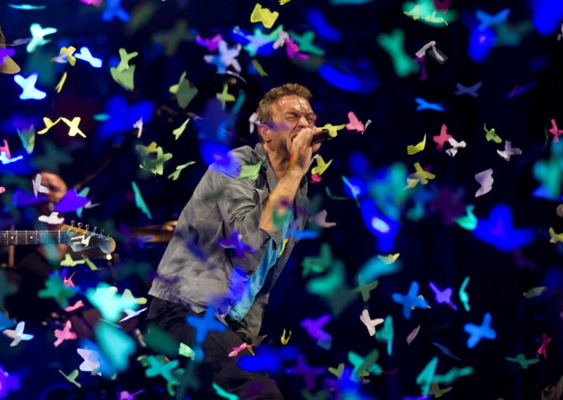 coldplay pulling a twonighter at xcel center