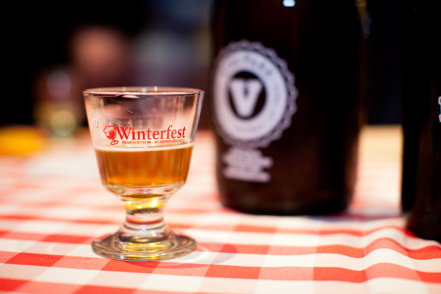 The rare beer you could see through at Winterfest 2012. / Photos courtesy Laura Ivanova Photography