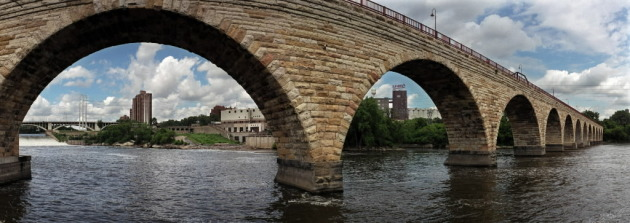 Minneapolis' Stone Arch Bridge will again play host to its namesake festival in 2012. / Star Tribune file