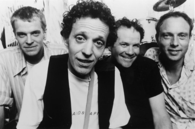 Slim Dunlap, second from left, with his mid-'90s band. / Photo by Tony Nelson