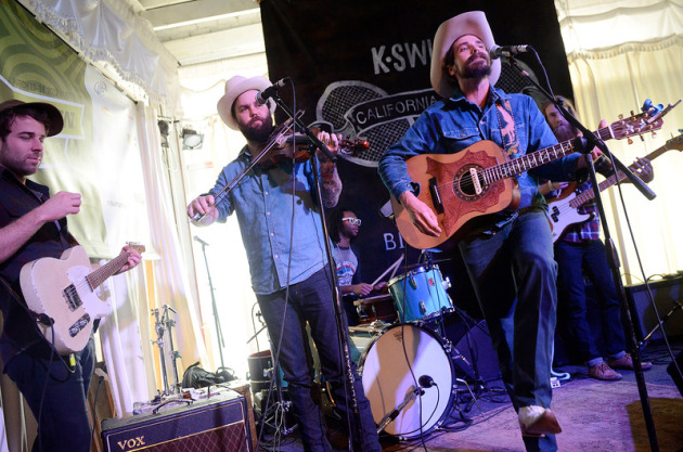 Jonny Corndawg played the American Songwriter magazine party at Swan Dive on Wednesday. / Photos by Tony Nelson