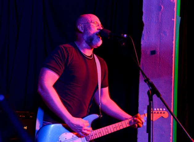 "Bob Mould tore through half of Sugar's ""Copper Blue"" album at Merge's SXSW showcase in March. / Photo by Tony Nelson"