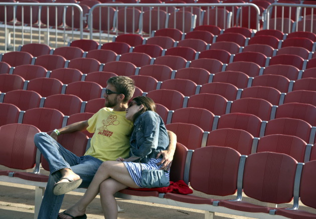 There was plenty of room in the VIp section at last year's Soundtown festival. / Kyndell Harkness, Star Tribune