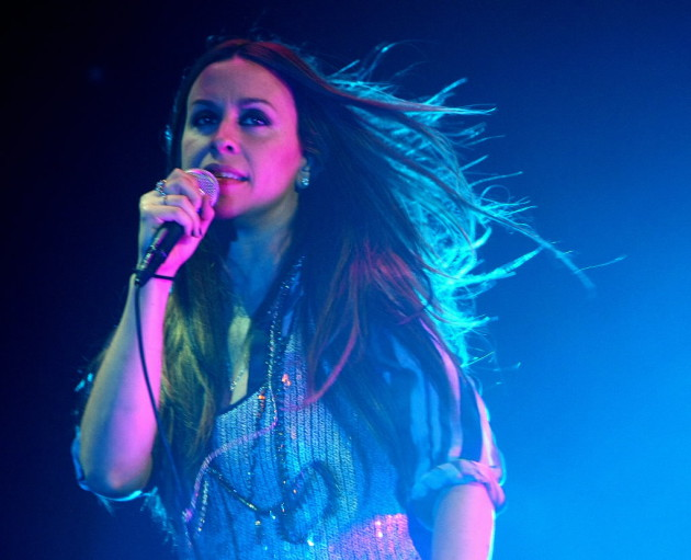 Alanis Morissette played Xcel Energy Center in 2007 with Matchbox Twenty. / Star Tribune, Tom Wallace
