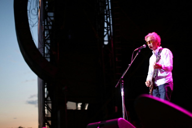 Gary Louris played the fair grandstand last weekend with the Jayhawks and performs solo this weekend in Mears Park. / Renee Jones Schneider