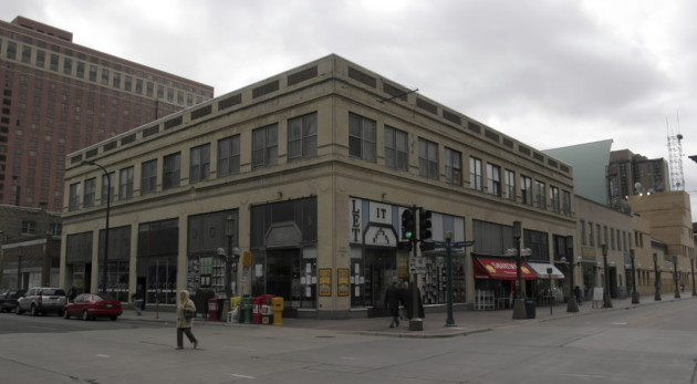 Let It Be Records before it was tore down in 2005 to make room for a condo tower (which was never built). / Star Tribune file