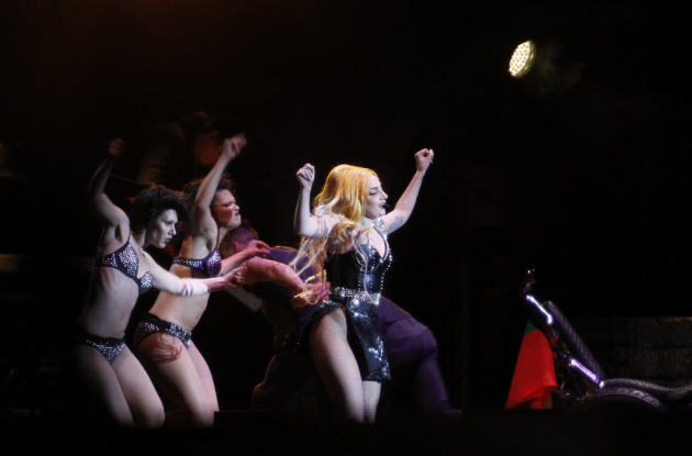 Lady Gaga's Born This Way Tour landed in Lithuania last month. / AP Photo, Mindaugas Kulbis
