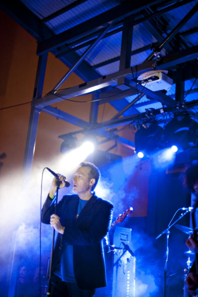 Jim Reid kicked off the Jesus and Mary Chain's 2012 reunion at SXSW in March. / Photo by Leslie Plesser