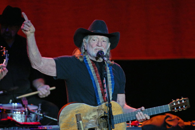 Willie Nelson breezed through his set in Mankato on Wednesday and then tore out of there to make his way toward Saturday's Farm Aid concert in Pennsylvania. / Star Tribune file, Joey McLeister