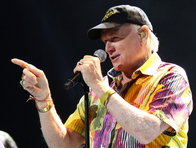Mike Love is pointing his way to Mystic Lake Casino for New Year's Eve with his revamped Beach Boys lineup. / AP Photo, Rick Rycroft