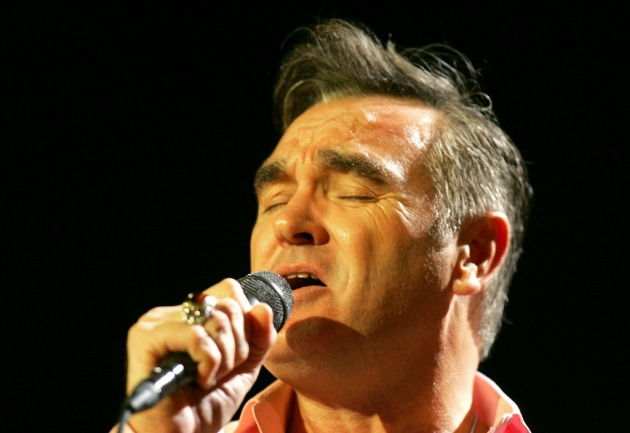 Morrissey began postponing shows last week due to his mom's illness. / Photo: David Swanson, Philadelphia Inquirer