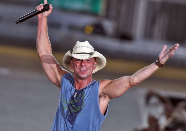 Kenny Chesney had a good enough time at Target Field last July to be returning next July. / Marlin Levison, Star Tribune
