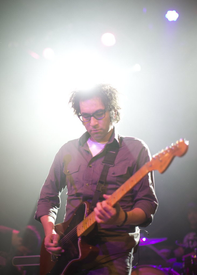 Justin Pierre and Motion City Soundtrack returned to the Varsity Theater on Sunday. / Jeff Wheeler, Star Tribune