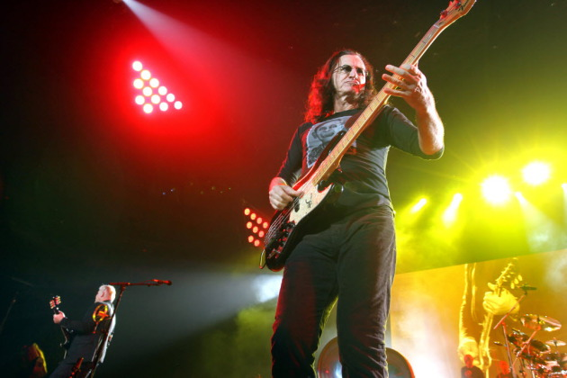 Geddy Lee and Rush earned mean, mean bragging rights by landing in the Rock and Roll Hall of Fame. / Courtney Perry, Star Tribune