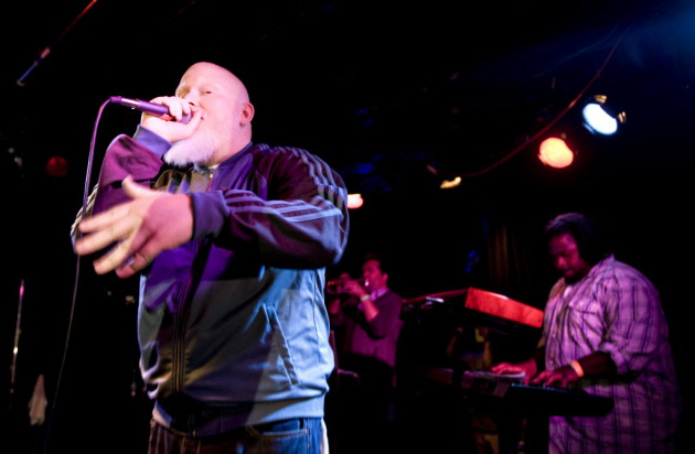 "Brother Ali was supposed to drop a few nice lines about Minnesota alongside Slug, Carnage and Haphduzn in the new track ""It Ain't the Prettiest."" What happened? / Photo by Leslie Plesser"