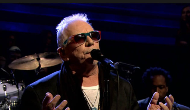 "Eric Burdon performed with the Roots earlier this week on ""Late Night With Jimmy Fallon."" / Courtesy NBC"