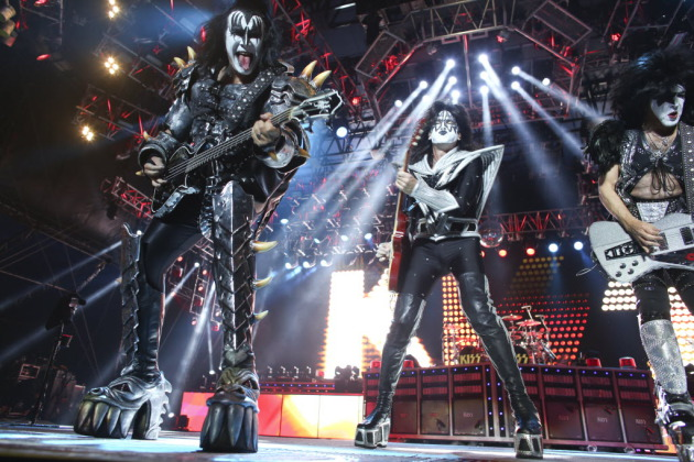 Kiss played the State Fair last year with Mötley Crüe, and this summer each act will headline separate nights at Rock Fest in Cadott, Wis. (near Eau Claire). / Kyndell Harkness, Star Tribune