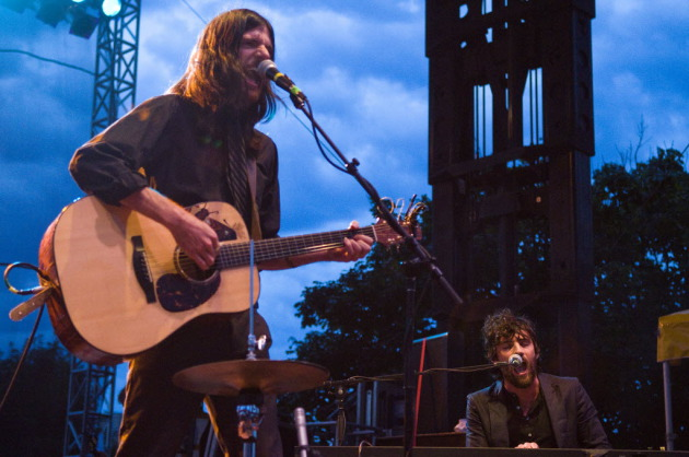 Seth Avett, left, and brother Scott made a big impression at the 2010 Basilica Block Party and returned to it last year. / Star Tribune file