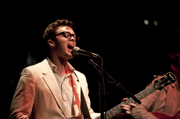 Jeremy Messersmith at the Current's birthday party last year at First Avenue. / Leslie Plesser, Star Tribune