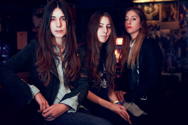 The sister bandmates of Haim recently toured with Mumford & Sons and Florence & the Machine. Oh, those bands.
