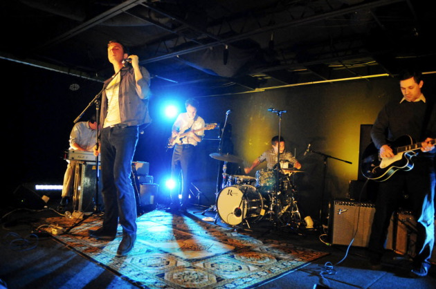 The Walkmen, shown here at a South by Southwest gig in 2010, played later that year to a scant crowd at Taste of Minnesota in St. Paul. / Photo by Tony Nelson