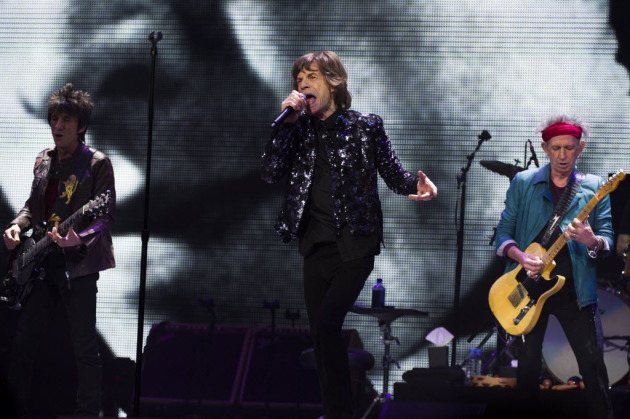 The Rolling Stones played shows in New York and London in December to mark their 50th anniversary. / Photo by Charles Sykes, Invision/AP