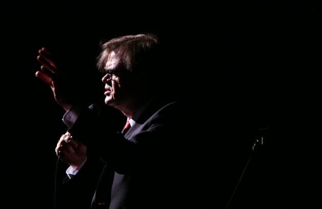 "Garrison Keillor will be living like a rock star this summer on the ""APHC Radio Romance Tour."" / Tom Wallace, Star Tribune"