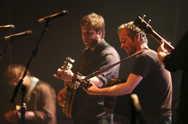 Trampled by Turtles packed First Avenue three nights in a row last week to mark their 10th anniversary. / Jeff Wheeler, Star Tribune