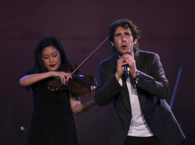 Josh Groban rocked Target Center in 2011 and will return Oct. 19. / Jeff Wheeler, Star Tribune
