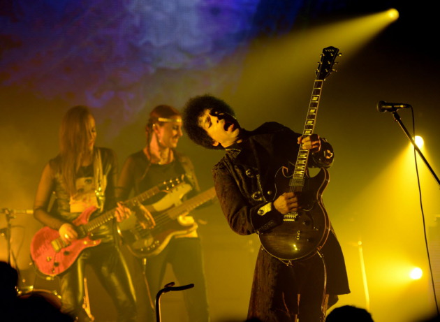 Prince and 3rdeyegirl rocked Vancouver last week and will be back in town to play Myth nightclub on Saturday. / Kevin Mazur, Wire Image