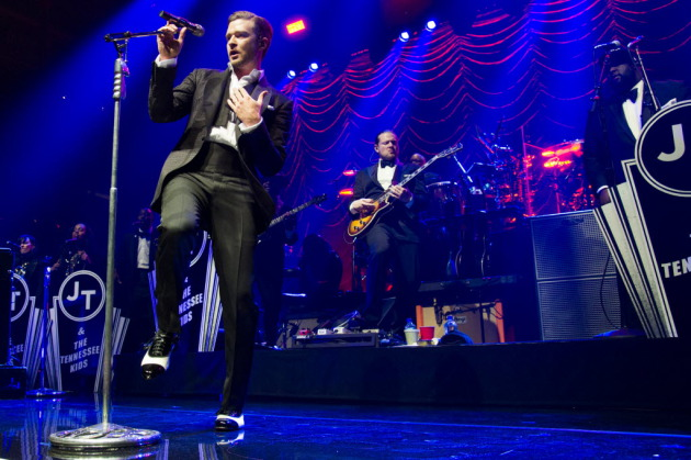 "Justin Timberlake's ""20/20 Exerpience"" tour is well under way but won't arrive in St. Paul until Feb. 9. / Charles Sykes, Invision, AP"