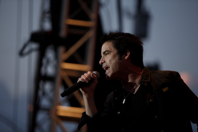 Patrick Monahan and Train headlined the Basilica Block Party last summer and will be back to play the fair on Aug. 29. / Star Tribune file