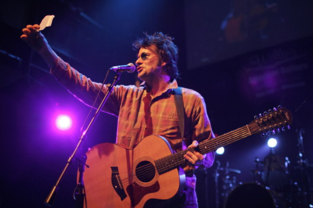 Paul Westerberg was prepared enough to write up a set list for the Rock for Karl concert at the Quest in 2004. Not telling what kind of preperation is going to his three upcoming Replacements reunion gigs. / Jeff Wheeler, Star Tribune