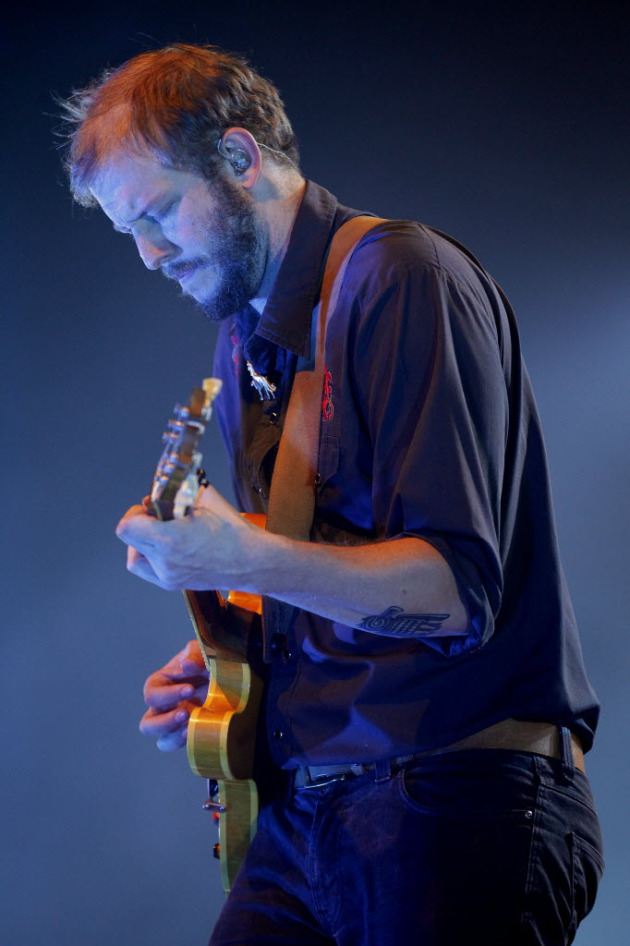 Justin Vernon at the State Theatre in 2011. / Star Tribune file