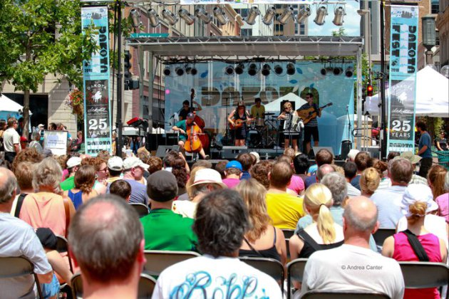 The first Dakota Street Festival was held in 2010 to coincide with the club's 25th anniversary. / Photo courtesy the Dakota