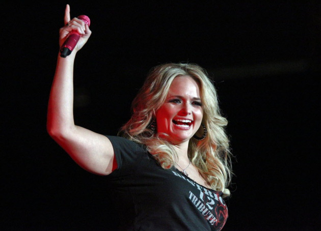 Miranda Lambert first performed as an arena headliner locally at Target Center in April 2012. / Marlin Levison, Star Tribune