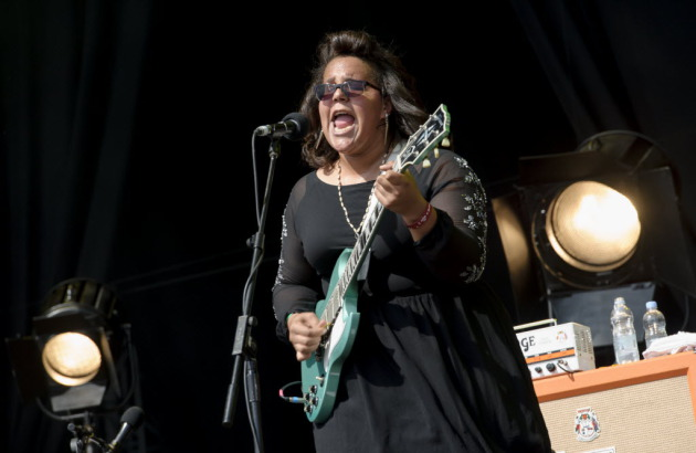 Brittany Howard and Alabama Shakes came to Cabooze Plaza on Sunday fresh from a U.K. tour that included a gig at the Hard Rock Calling Festival. / Photo by Jonathan Short/Invision/AP