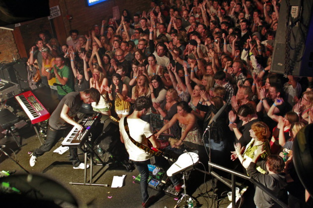 Foster the People played a sold-out show at the Fine Line Music Cafe in 2011. / Marlin Levison, Star Tribune
