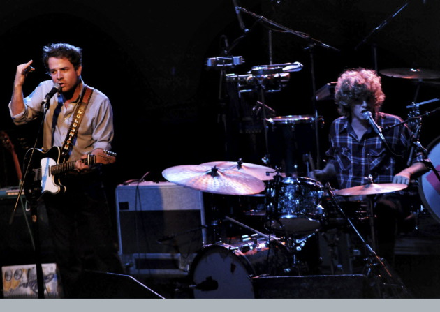 Taylor and Griffin Goldsmith first fell for First Avenue during Dawes shows there in 2010. / Photo by Leslie Plesser