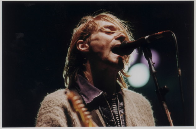 "Kurt Cobain and Nirvana returned to Minnesota to peform at the St. Paul Civic Center on Dec. 10, 1993, 10 months after recording ""In Utero"" in nearby Cannon Falls. / Joey McCleister, Star Tribune file"